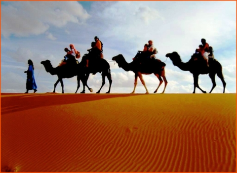 private tour from Tangier in Morocco, Merzouga desert tour