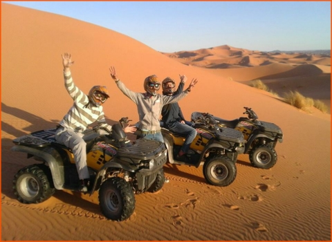 private tour from Marrakech in Morocco to desert in Zagora
