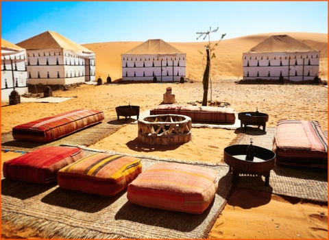 New Year tour in Merzouga camp , New Year tour from Marrakech in Morocco