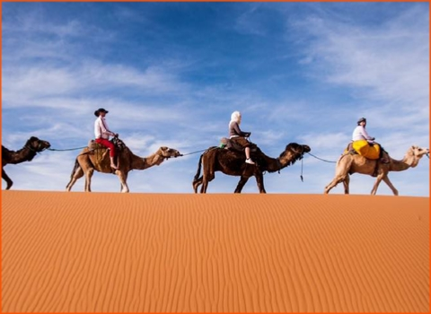 private tour from Marrakech in Morocco to desert in Merzouga