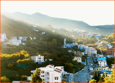 private 3 Days Casablanca tour to Chefchaouen and Tangier,Morocco private tour